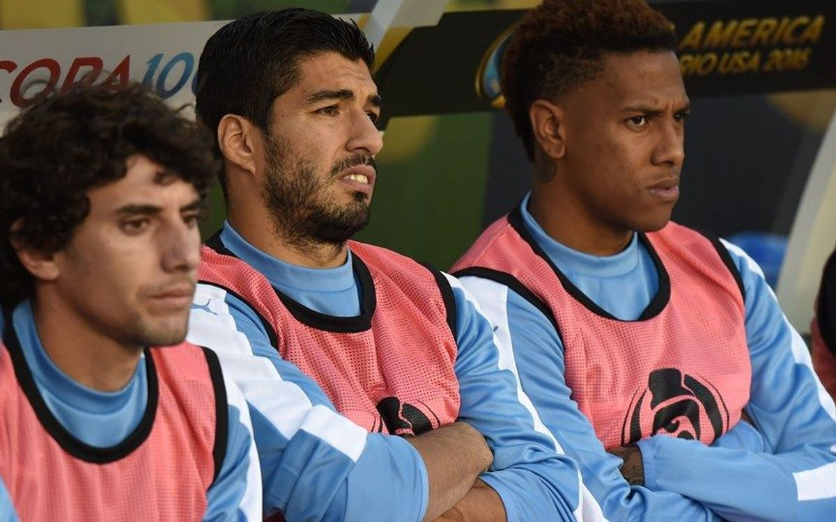 Luis Suárez and Uruguay knocked out by Venezuela, 1–0