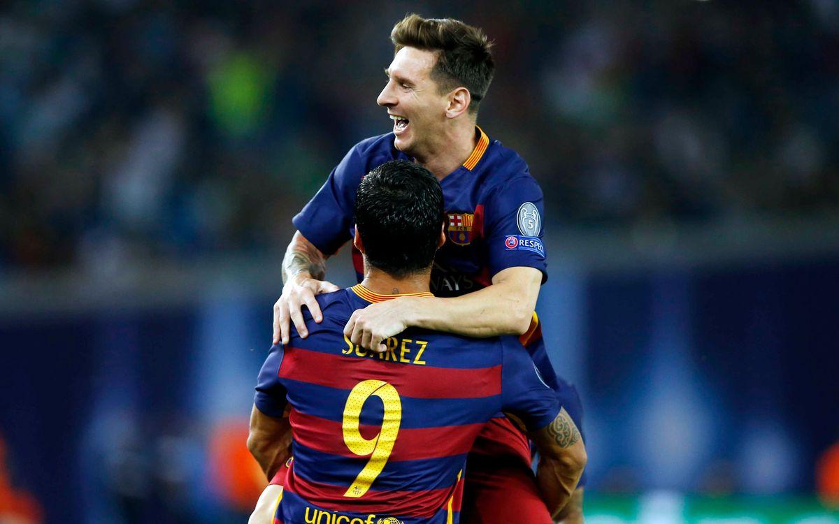 Messi se reencuentra con el Sevilla con la puntería afinada