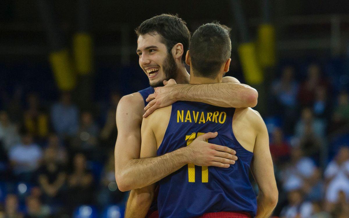 Navarro, Abrines i Ribas, convocats amb Espanya