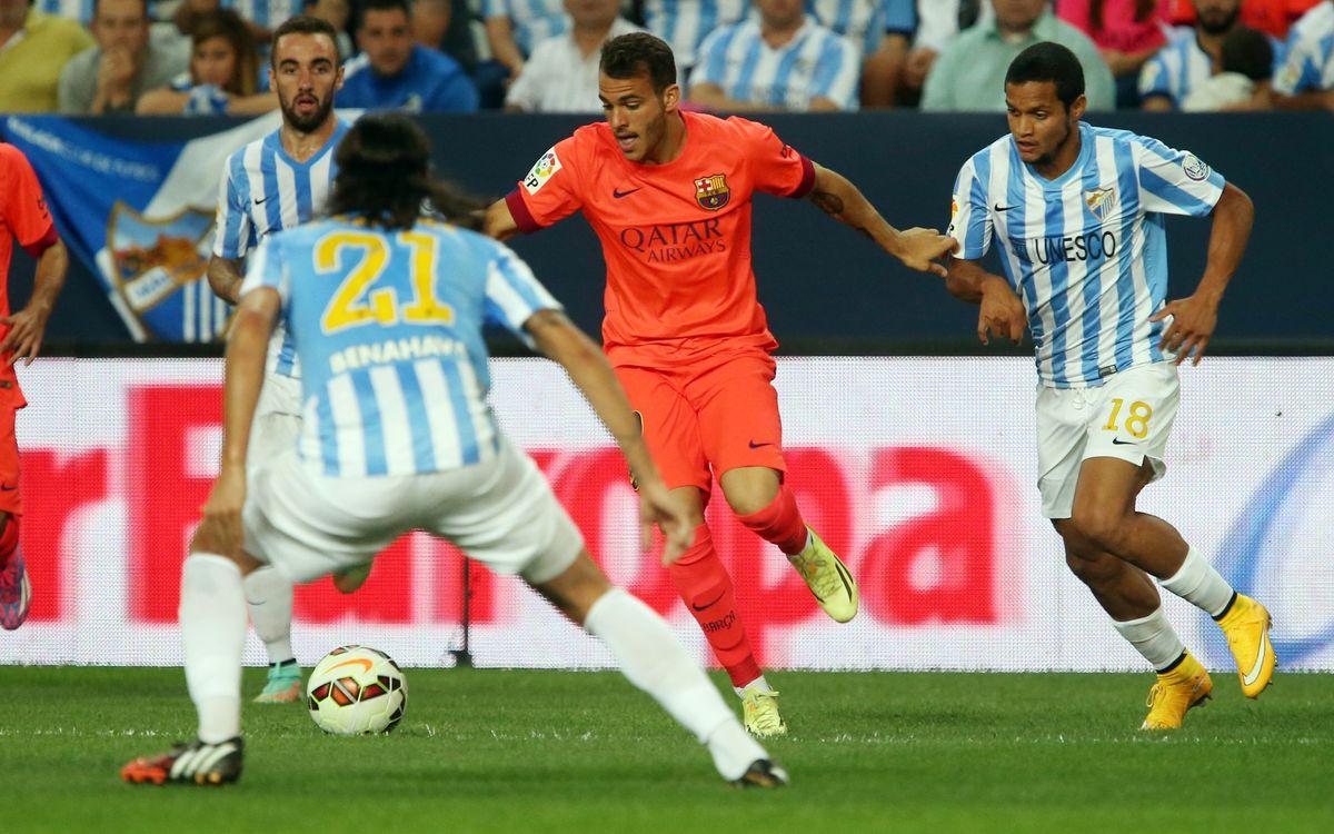 Sandro Ramírez signs with Málaga CF