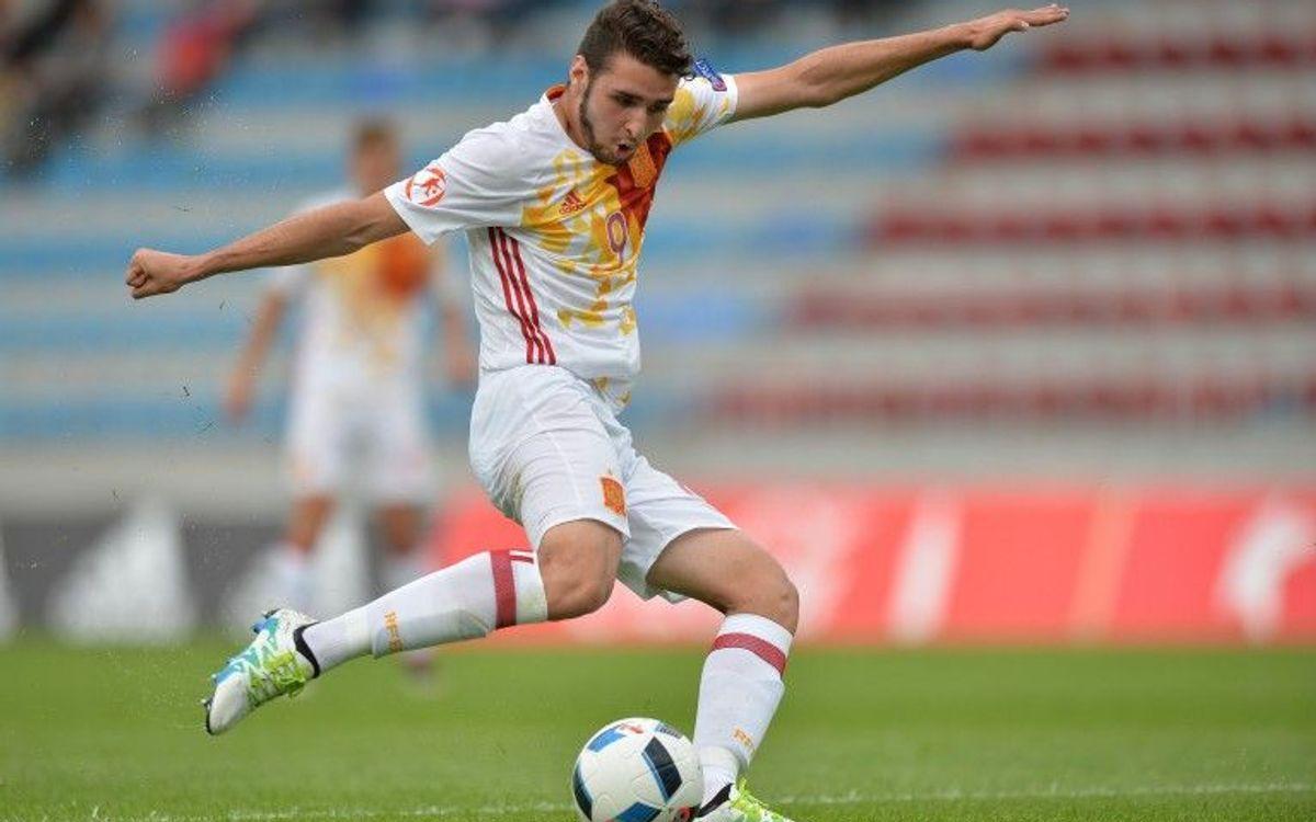 La sub-17 espanyola empata amb Sèrbia (1-1) amb gol d'Abel Ruiz