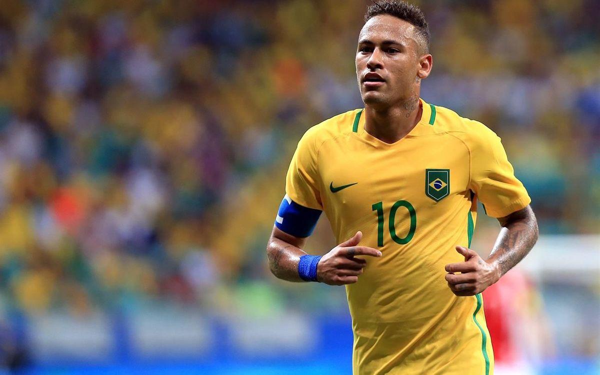 Neymar Jr i Rafinha busquen la medalla d'or olímpica