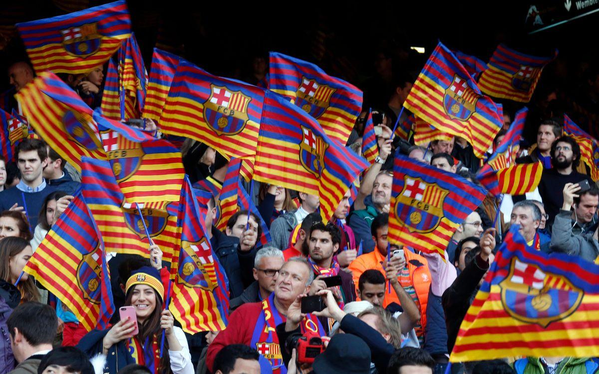 Los socios piden 5.028 entradas para la final de Copa el primer día de solicitud
