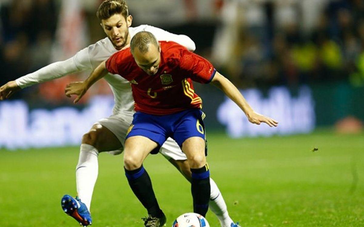 Derrota de la selecció espanyola en l'últim test abans de l'Eurocopa (0-1)
