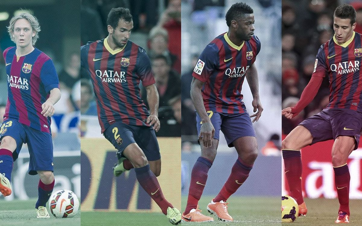 End of year review of FC Barcelona's loaned out players