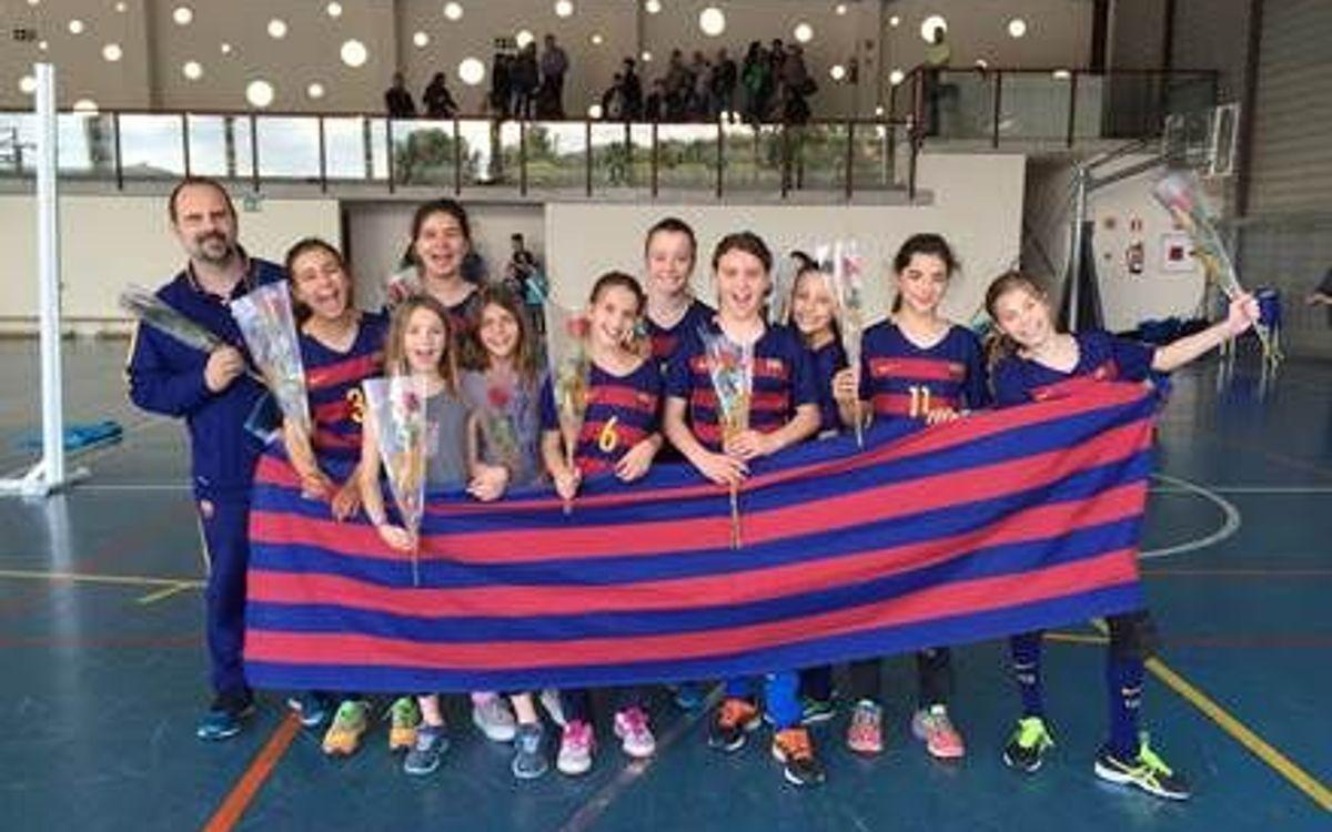 El CVB Barça campeón de Cataluña alevín