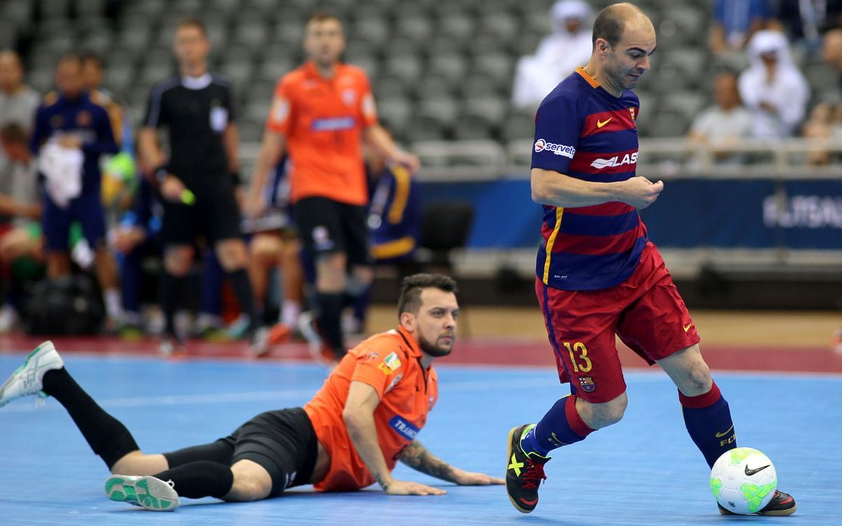 FC Barcelona Lassa top group with 3–3 draw with Carlos Barbosa