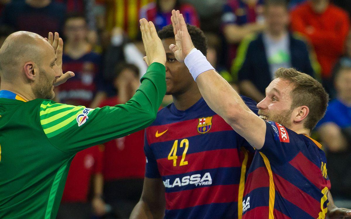 THW Kiel - FC Barcelona Lassa: La primera parte de una gran batalla