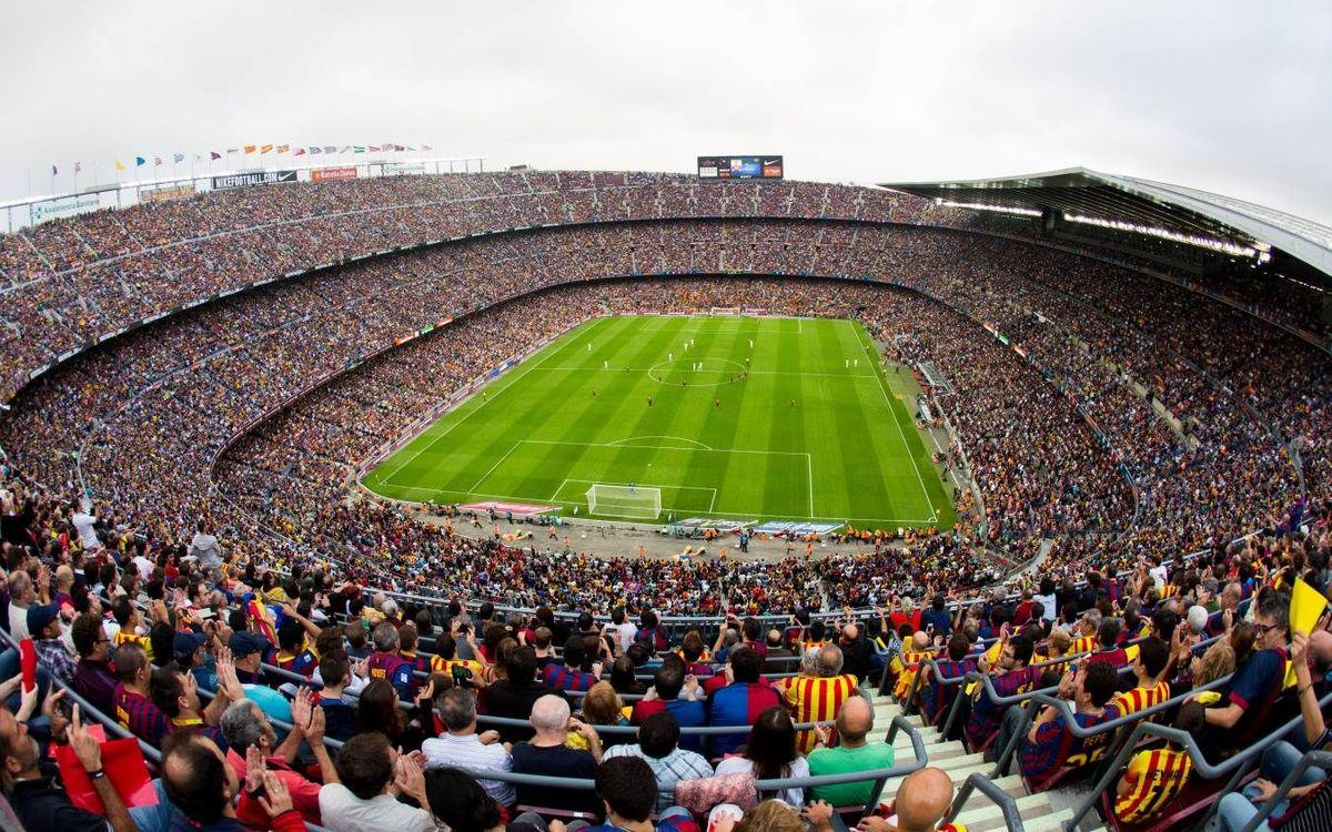 El Camp Nou, un recinte de luxe