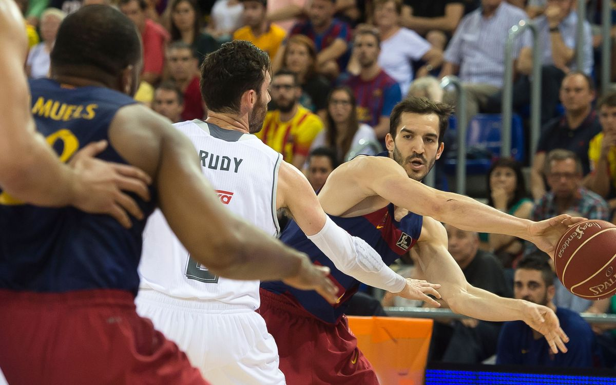 FC Barcelona Lassa v Real Madrid: Series tied on one each (70-90)