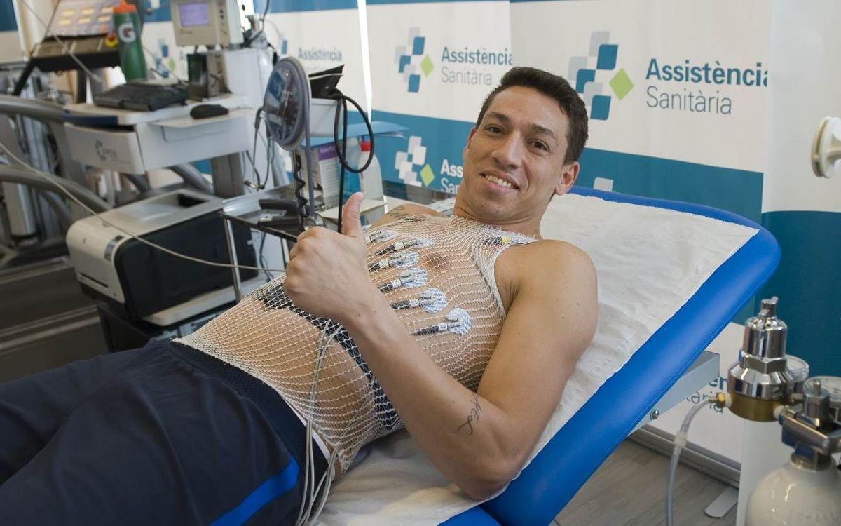 Rómulo Alves passa les proves mèdiques