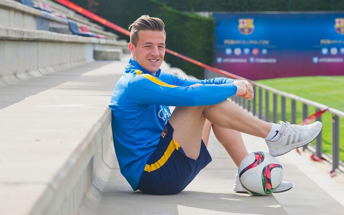 """Entrevista a Tarín: """"Jugar contra el Valencia tiene una importancia sentimental añadida para mí, pero quiero ganar"""""""