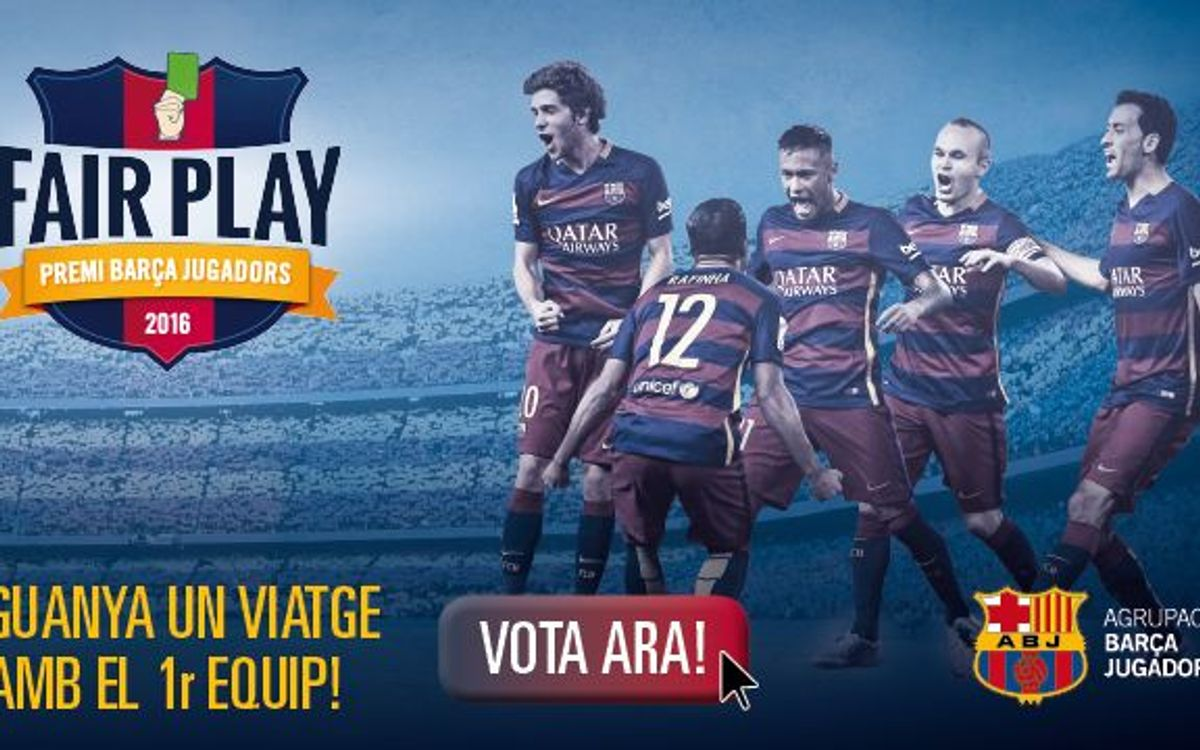New edition of Barça Players Award