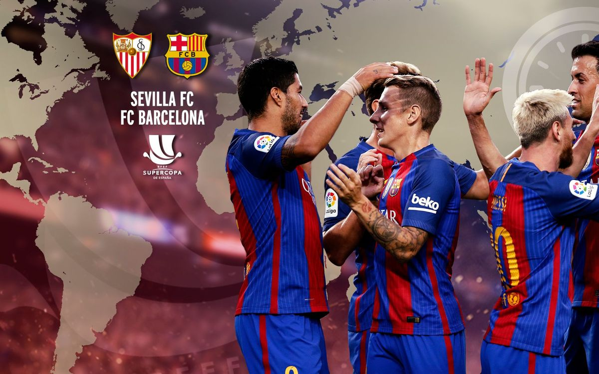 When and where to watch Sevilla FC v FC Barcelona in the Spanish Super Cup first leg
