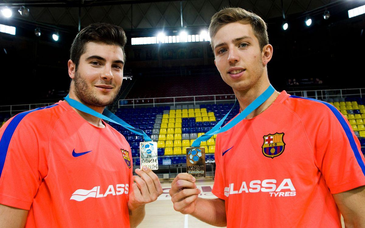 Els campions d'Europa ja s'entrenen amb el primer equip