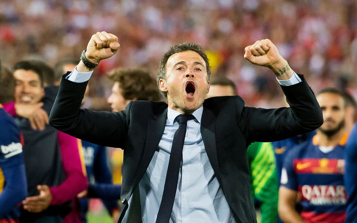 Seven out of nine for Luis Enrique