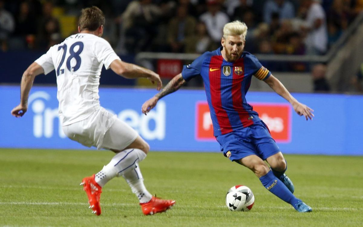 Pre-season video highlights: Leicester City v FC Barcelona