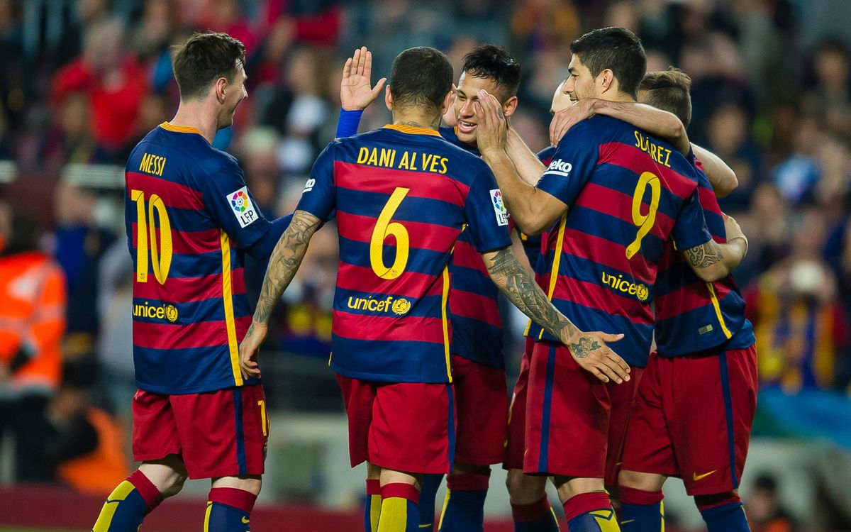 Love set for FC Barcelona in 6–0 shutout of Sporting de Gijón
