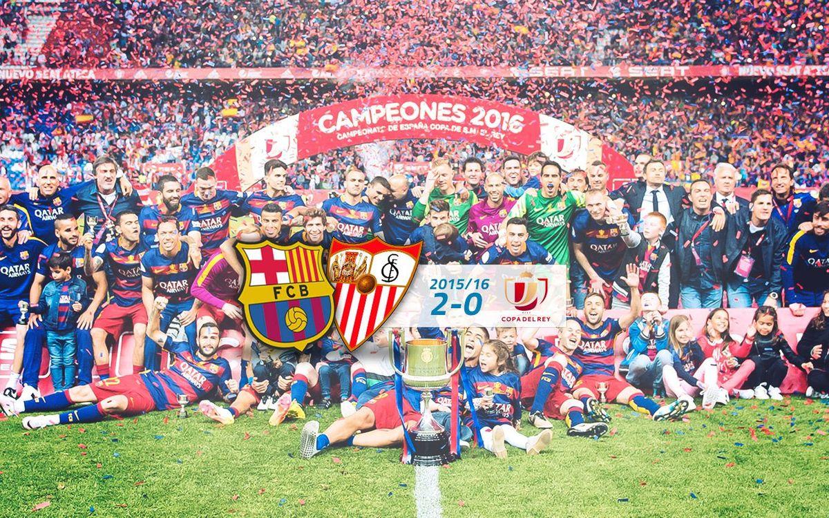 FC Barcelona: 2 - Sevilla FC: 0