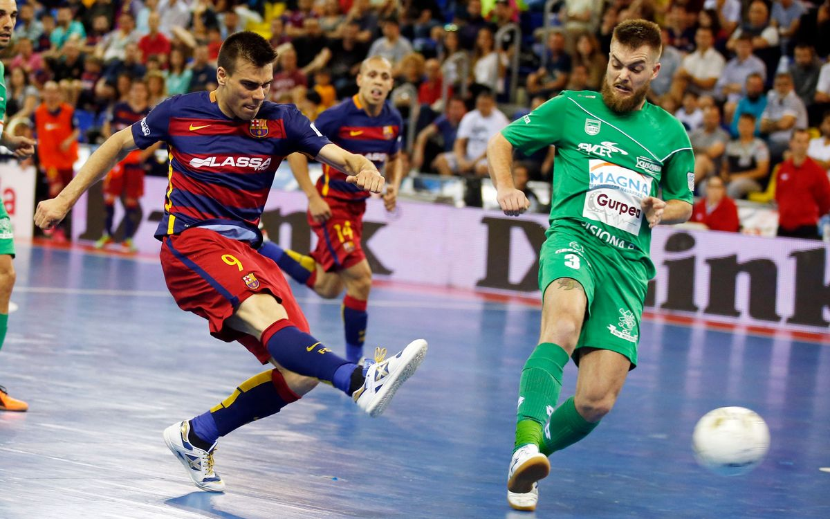 El FC Barcelona Lassa busca el pase a la final de la LNFS