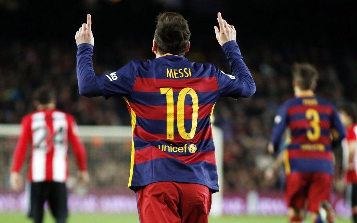 Ocho años de Leo Messi con el '10'