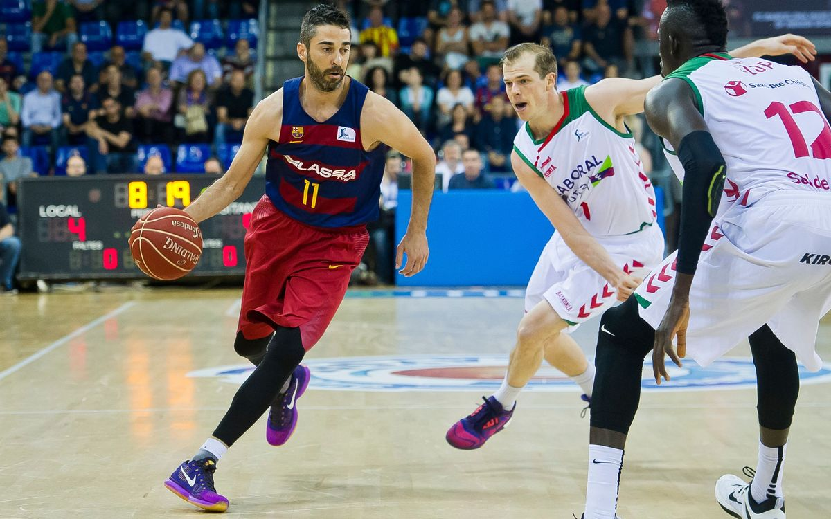 Tomic y Navarro hacen historia con el Barça Lassa de baloncesto