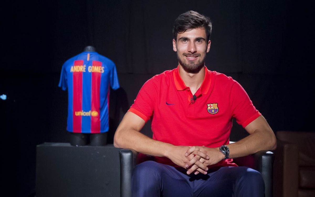 In-depth interview: André Gomes on signing for FC Barcelona