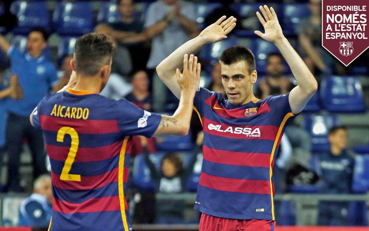 DIRECTE: FC Barcelona Lassa - Tasisat Daryaei