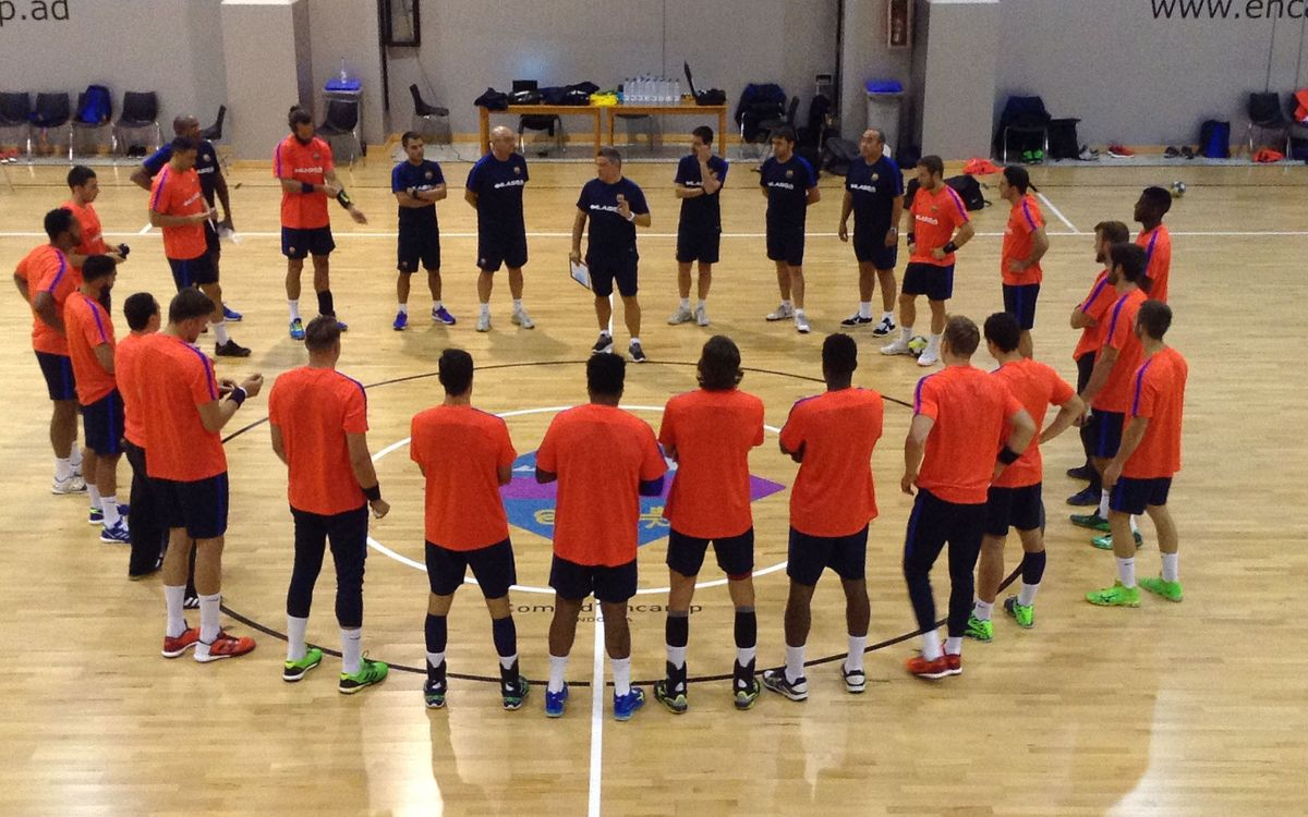 El Barça Lassa ja treballa a Encamp