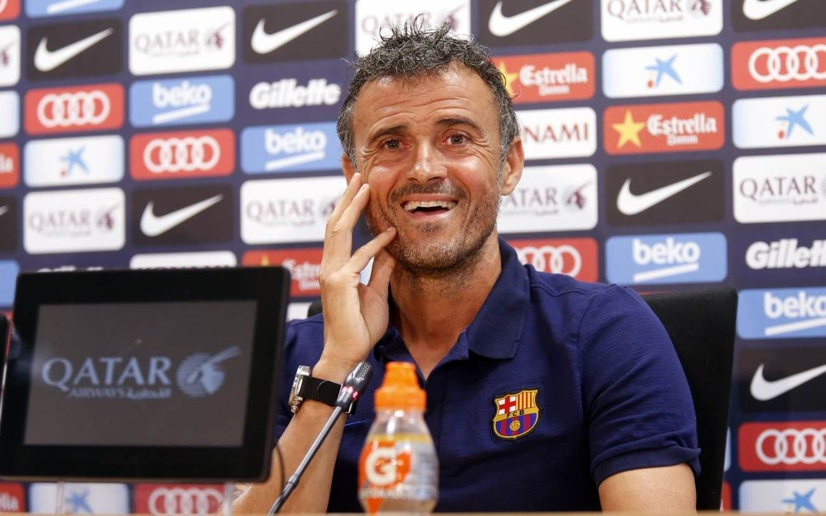 Luis Enrique: We have strengthened brilliantly