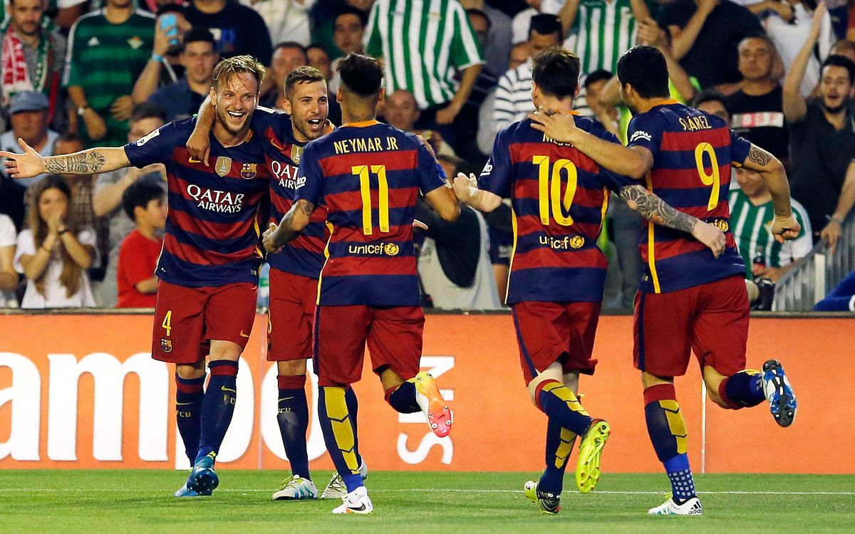 Real Betis v FC Barcelona: One step closer (0-2)