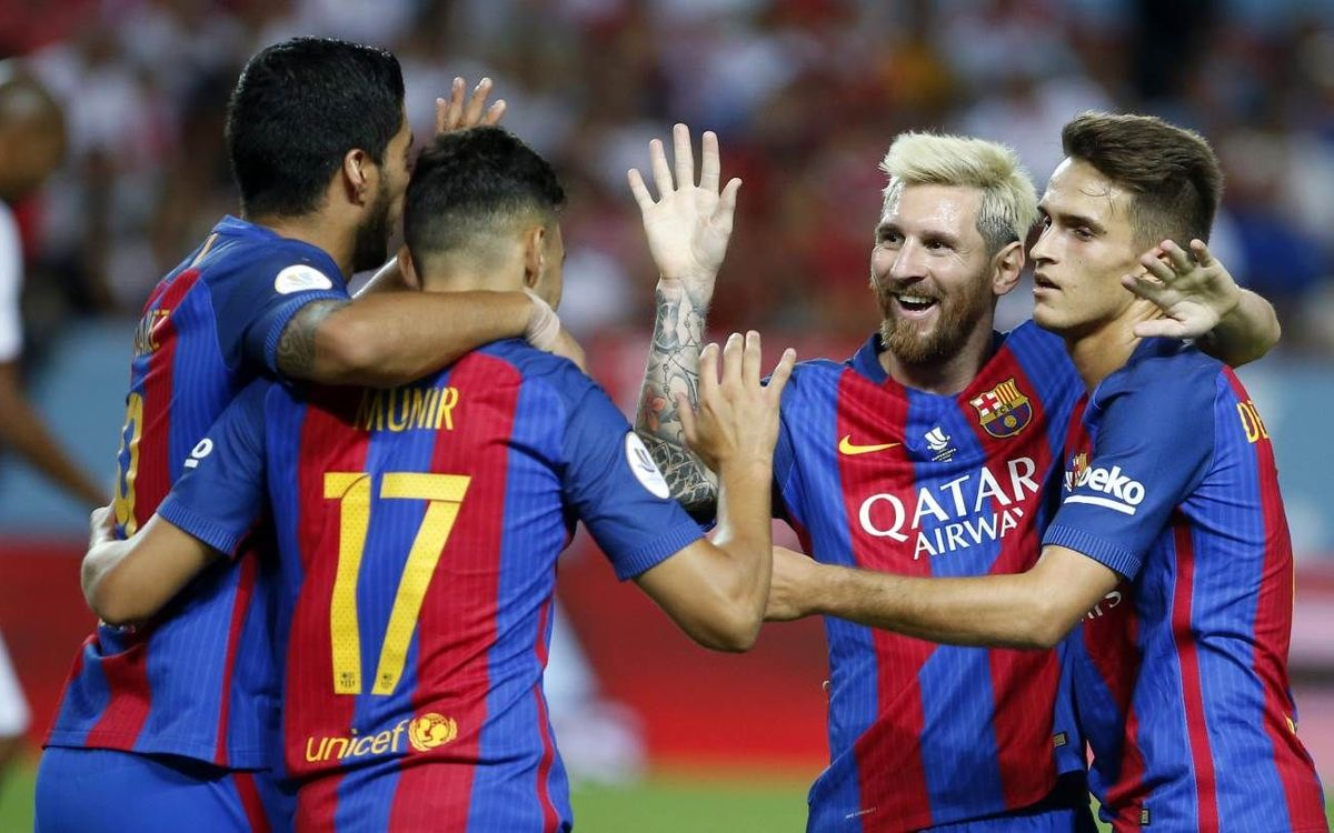 Sevilla FC v FC Barcelona: Half way there! (0-2)