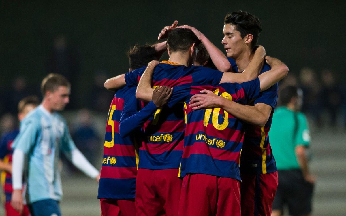 CD San Francisco v FC Barcelona U19: Hard fought win in Mallorca (0-1)