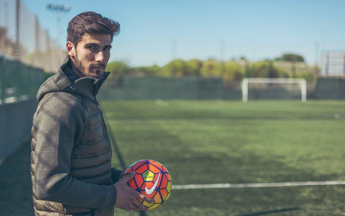 André Gomes firmará y será presentado el miércoles como nuevo jugador del FC Barcelona
