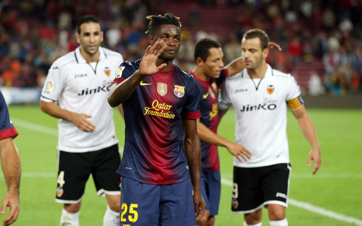 FC Barcelona and Alex Song agree to terminate contract
