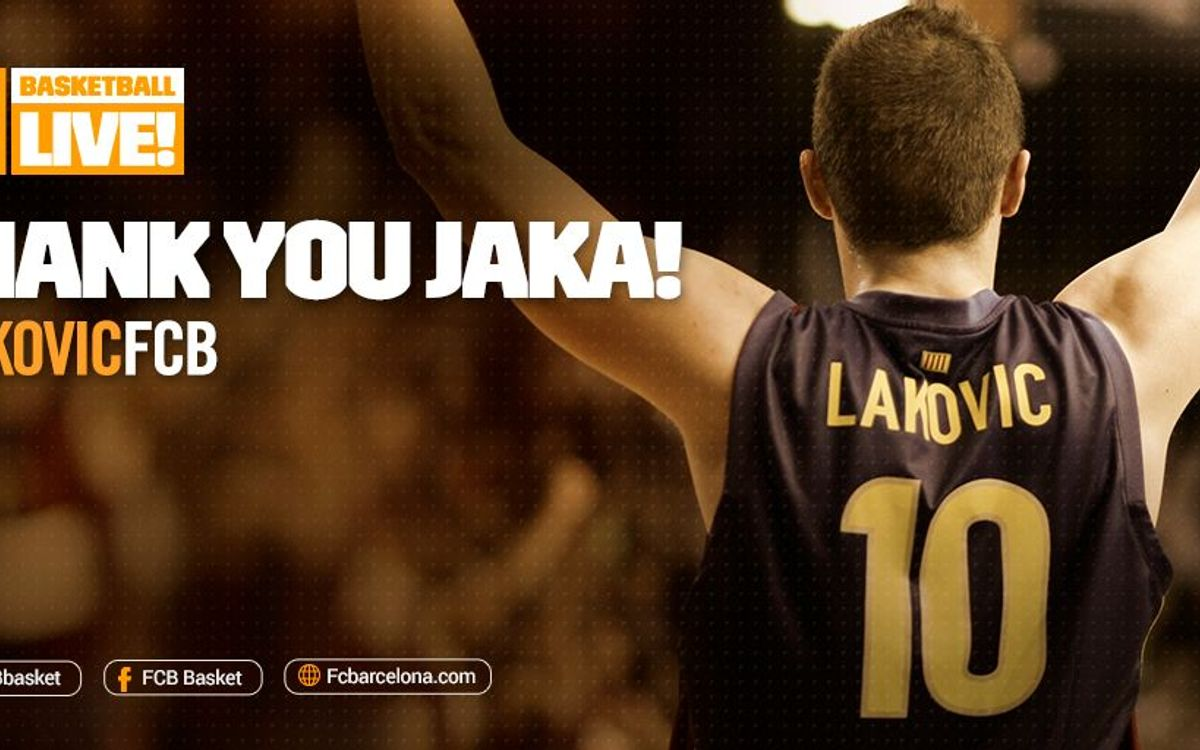 Jaka Lakovic announces his retirement from basketball