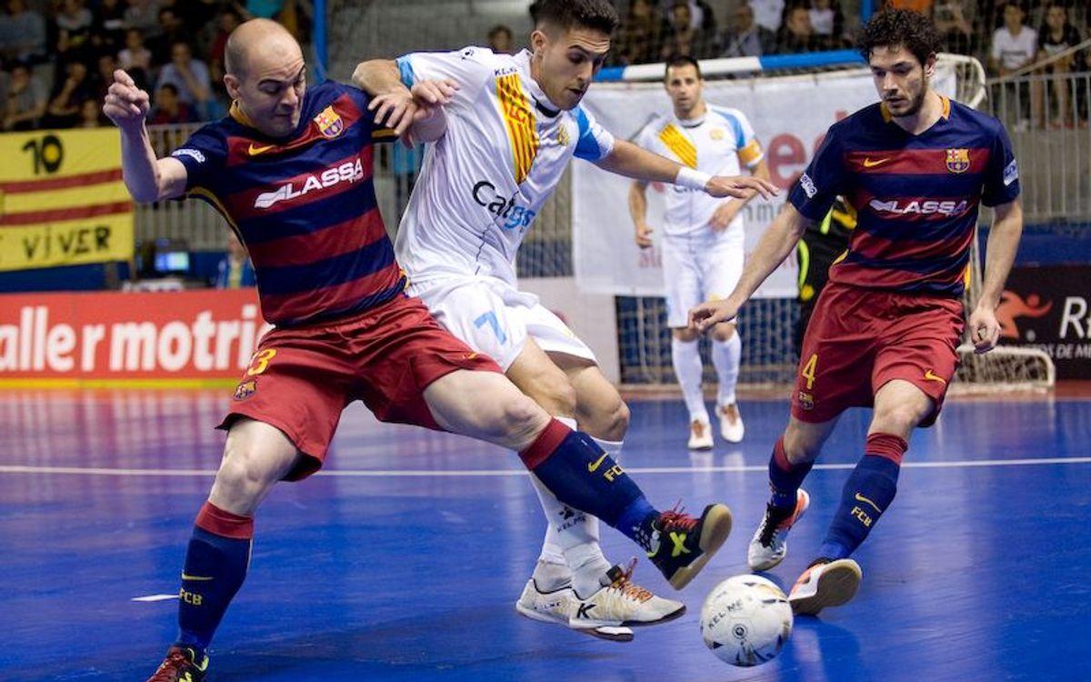 La història de l'1-0 als quarts de final per al FC Barcelona Lassa