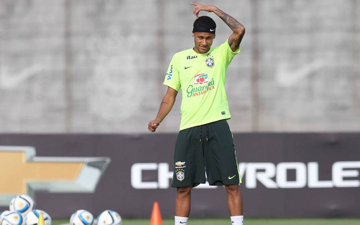 Neymar and Rafinha in Brazil Olympic squad