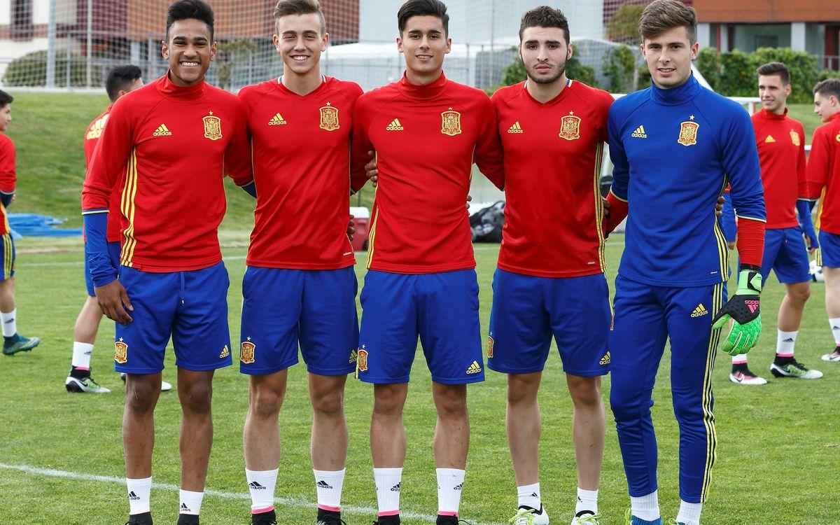 Comienza el Europeo sub17 con la presencia de cinco jugadores azulgrana