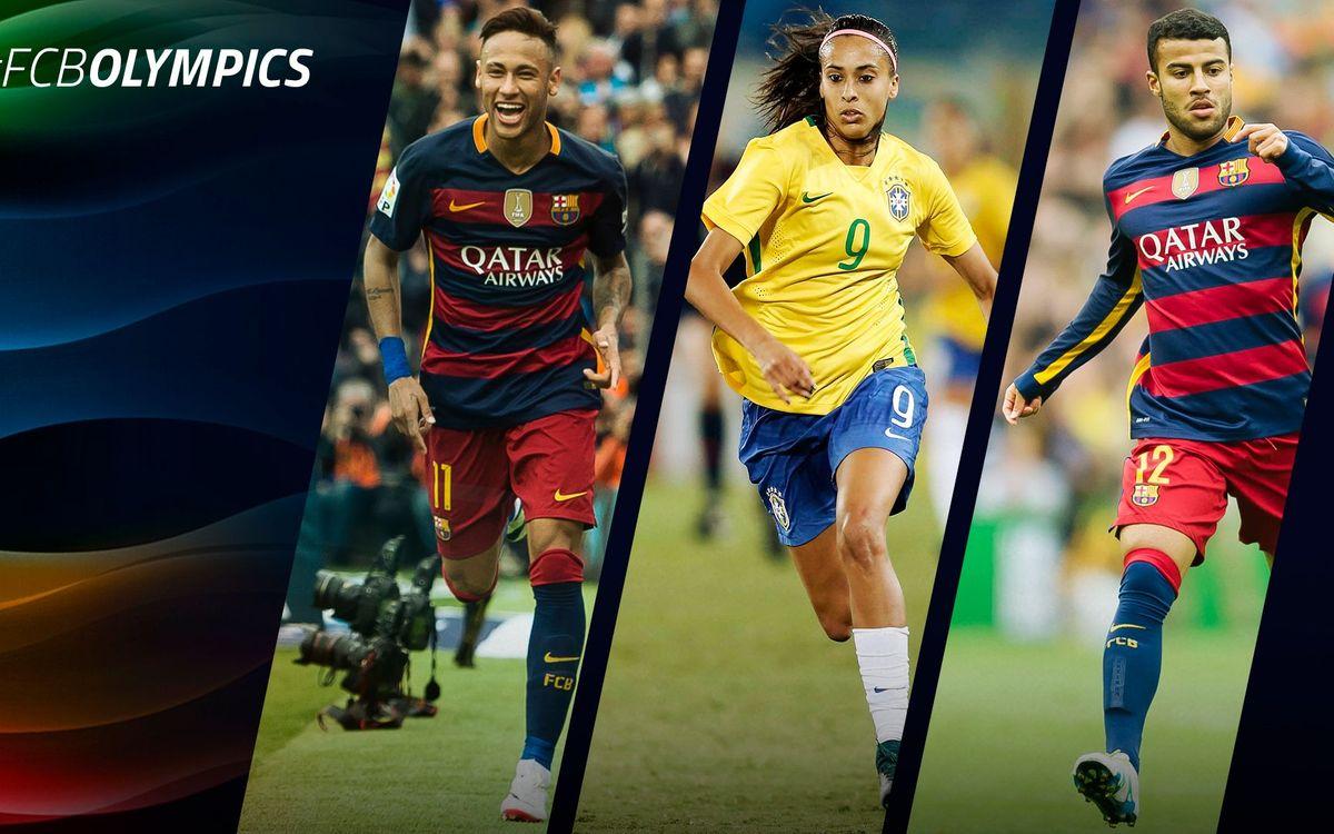 Los 30 futbolistas olímpicos del FC Barcelona
