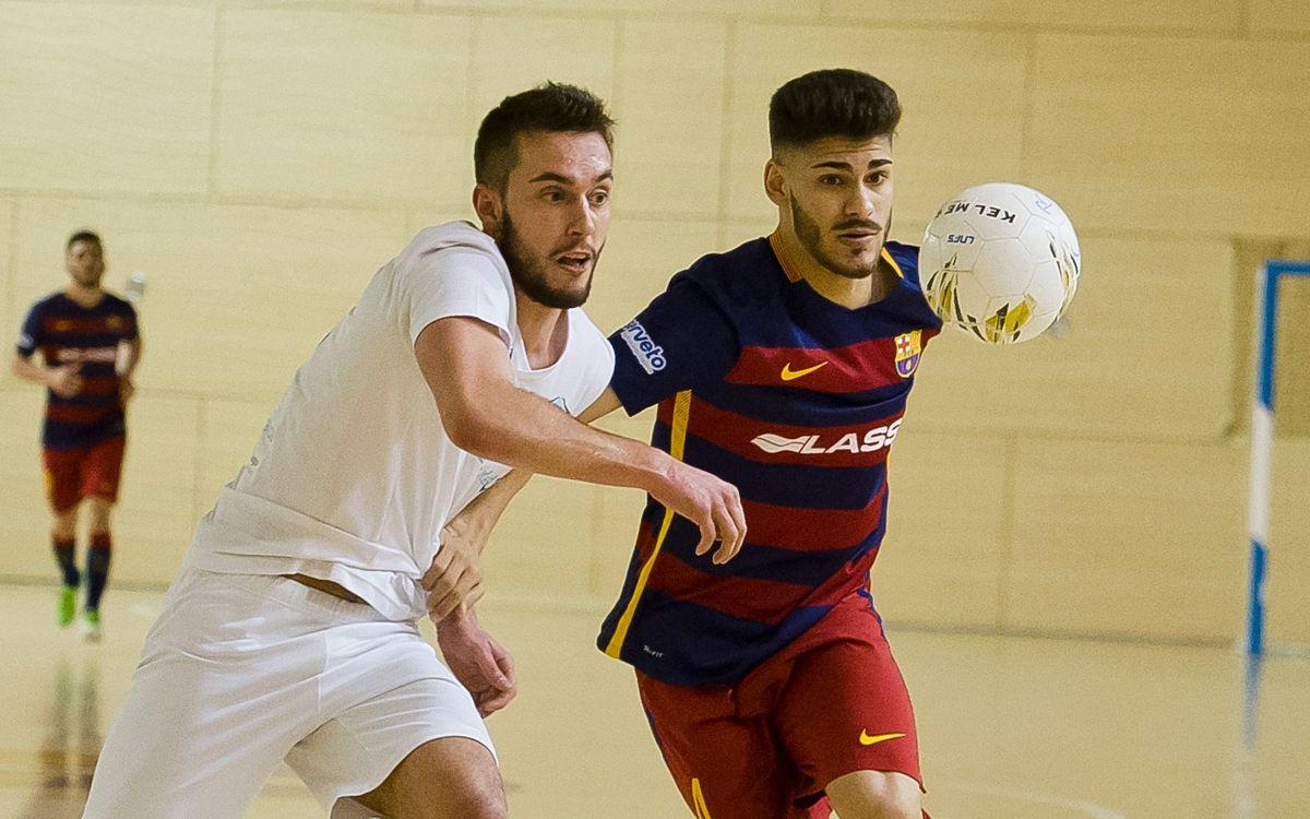 Melilla 3 – FC Barcelona Lassa B 4: Acaben l'any amb victòria