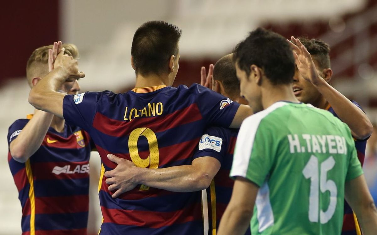 Tasisat Daryaei v FC Barcelona Lassa: Winning start thanks to Wilde fire (2-4)