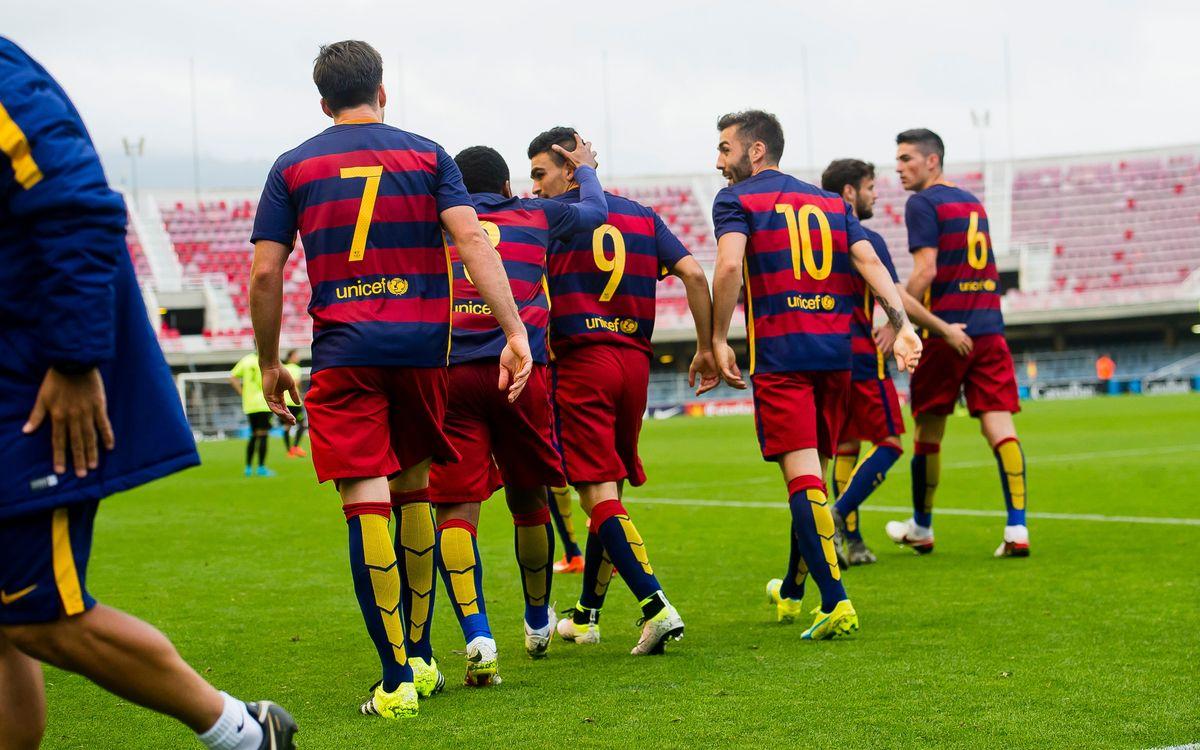 El Barça B, cuarto mejor equipo de la segunda vuelta