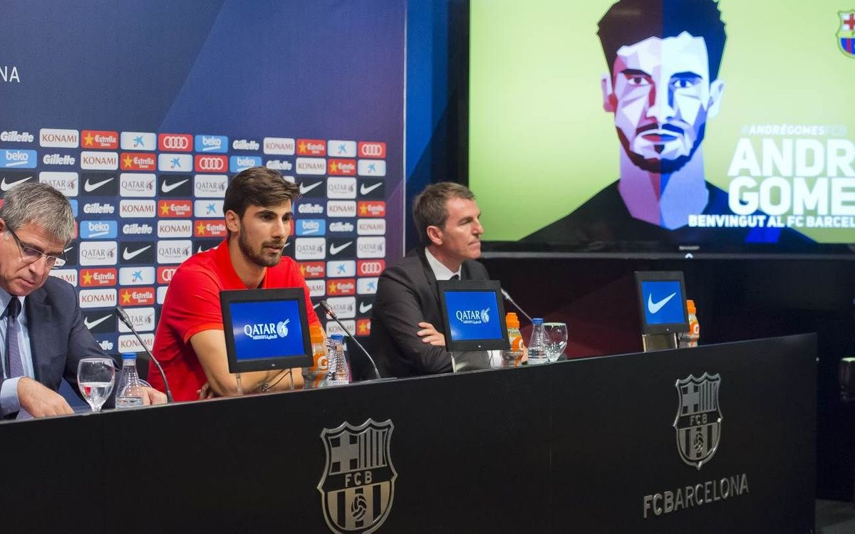 André Gomes: FC Barcelona relates to my personality