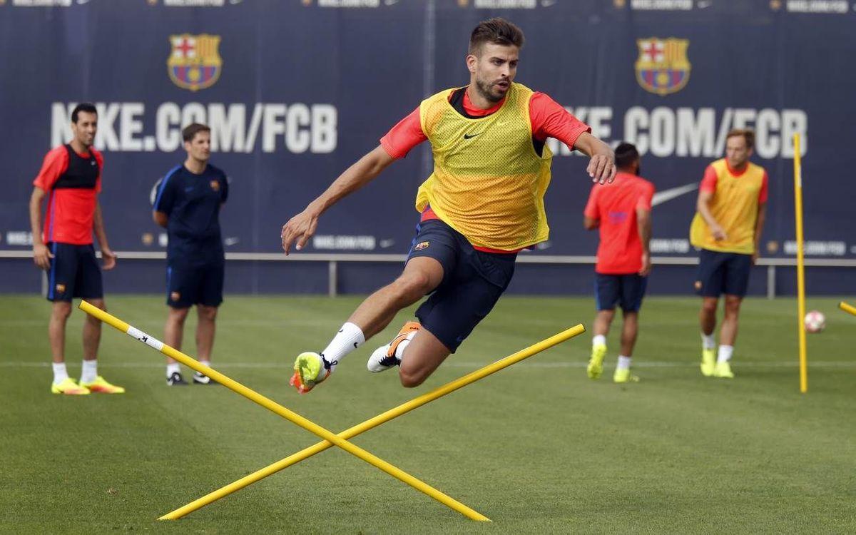 Training continues at Ciutat Esportiva