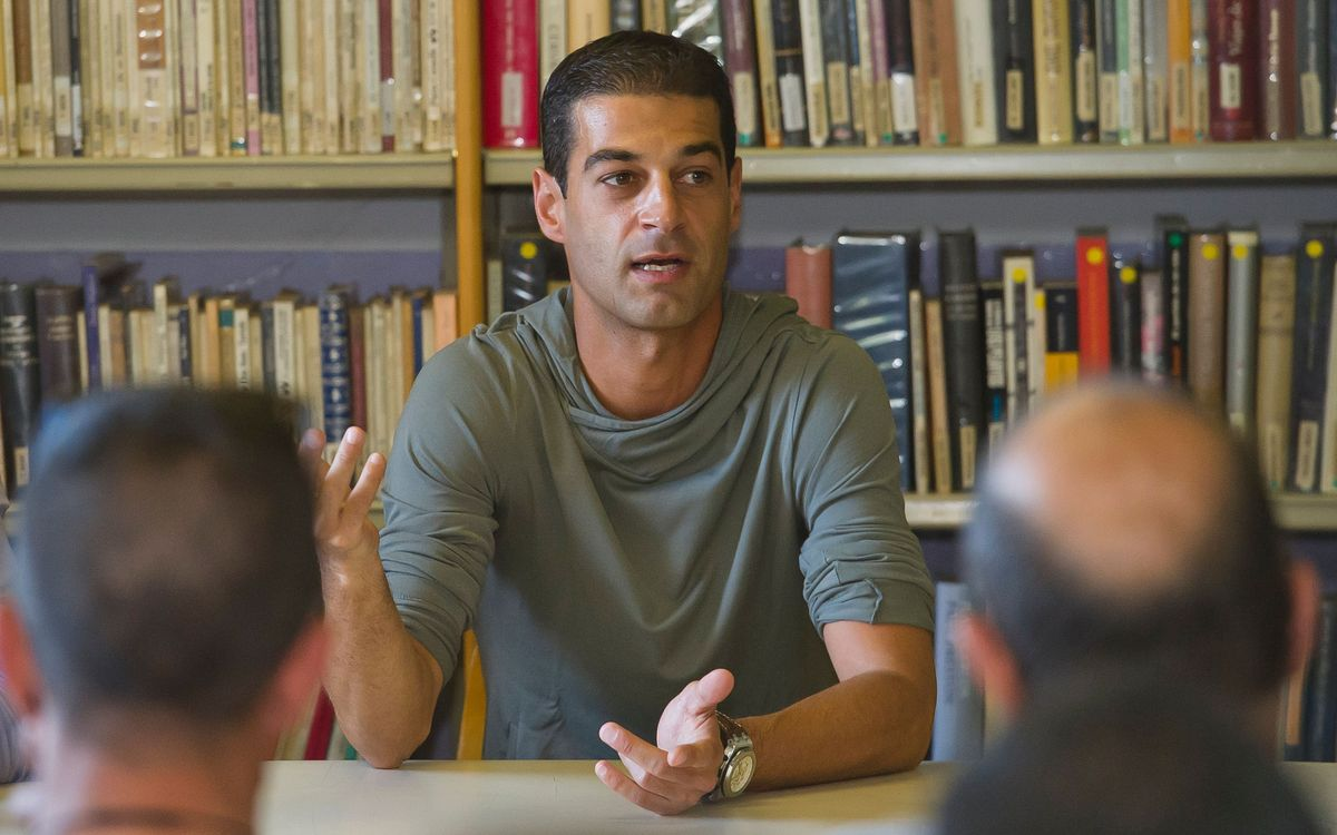 Gerard López visita la presó de Quatre Camins