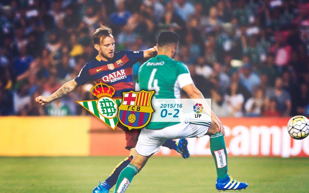 Betis: 0 - FC Barcelona: 2