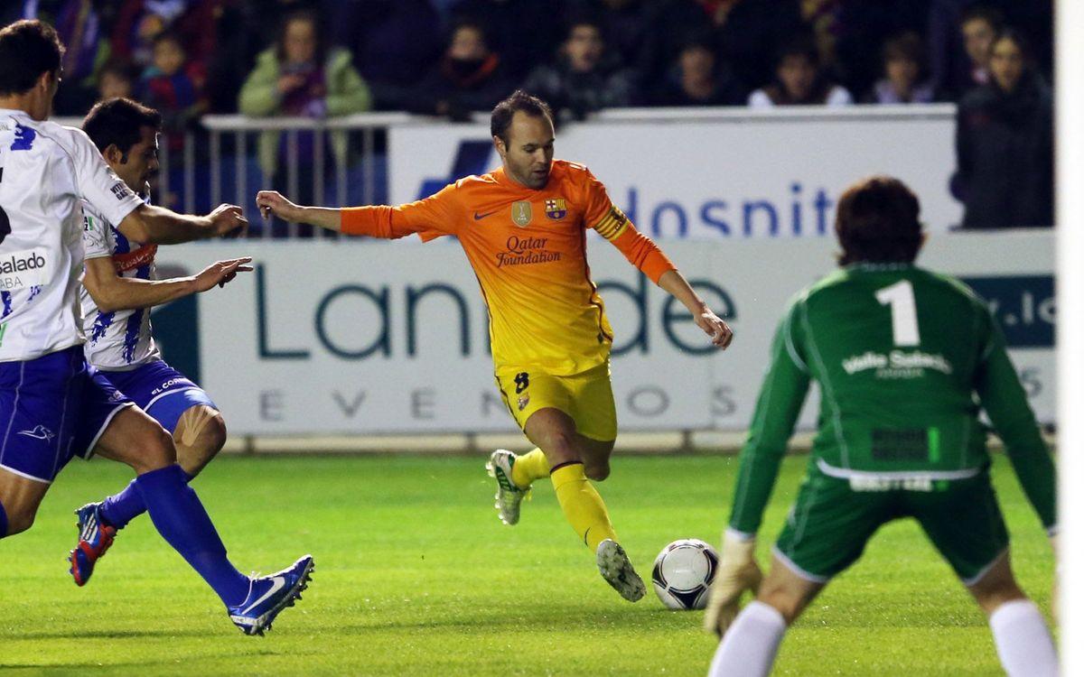 Els precedents contra l'Alabès, de nou a la Primera Divisió