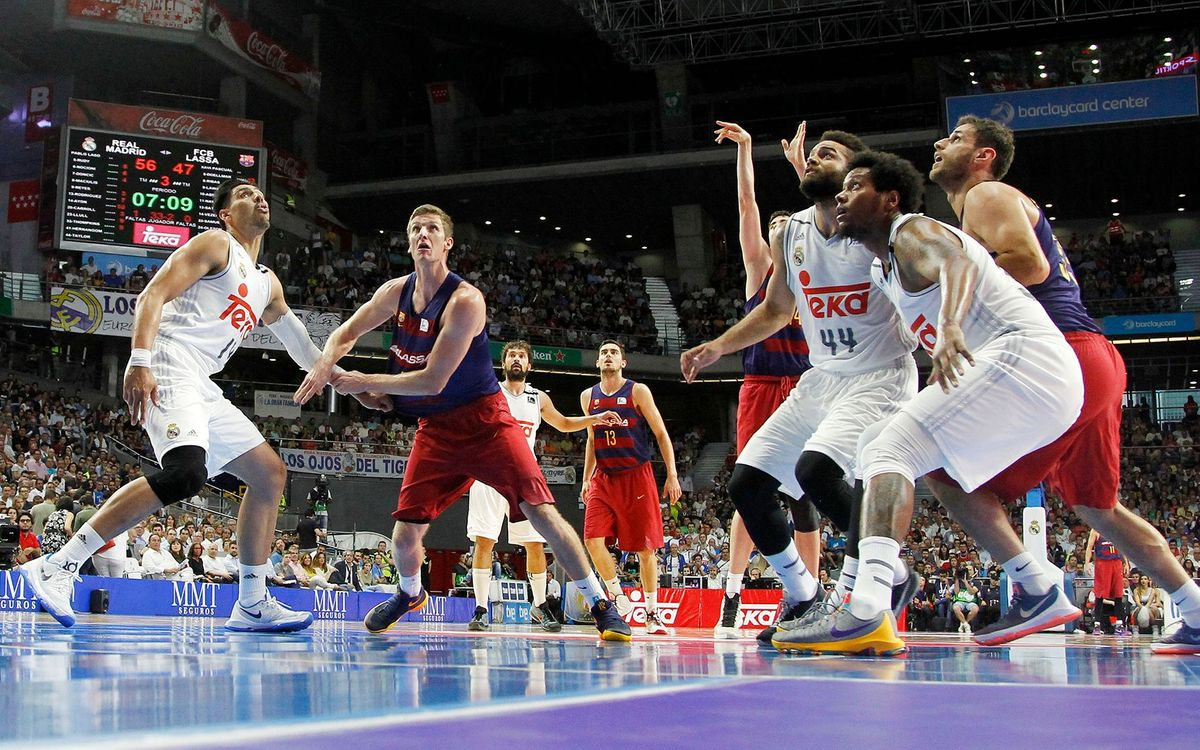 Real Madrid v FC Barcelona Lassa: Got to win the last two (91-74)