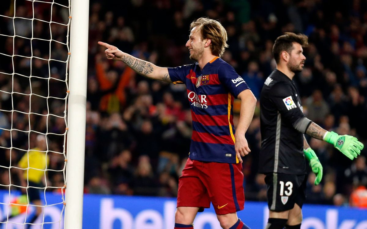Ivan Rakitic is Barça's high performance spark plug